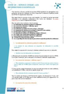 Icon of COVID 19 - FAQ - Service civique : les informations essentielles - MAJ 27.03