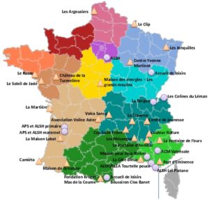 Icon of Carte des centres CED
