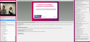 Webconference - accompagner les associations localement